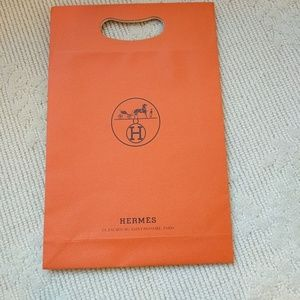 Hermes shopping bag